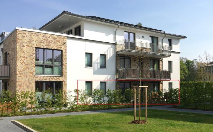 3-Zimmer Erdgeschoss-Wohnung mit Terrasse und EBK im Wohnpark Kammerwiesen, Peine