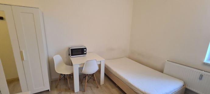 Modernes Einzelzimmer am Uni-Sportzentrum mit