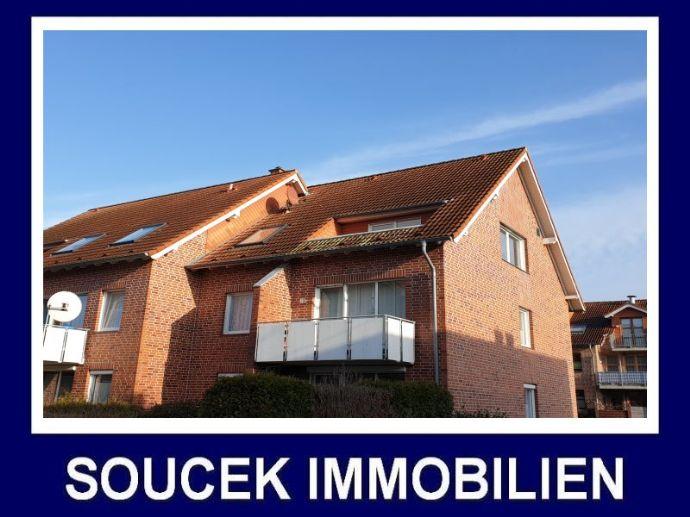 +++Dülmen-Buldern: bahnhofsnahe gut geschnittene und frisch renovierte 3-Zimmer- Dachgeschosswohnung mit Loggia in ruhiger sonniger Lage +++