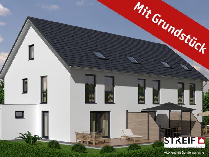Reihenhausprojekt - Innenstadtnah in Werl! Tolle, großzügige Reihenhäuser als EFF 40 Häuser!