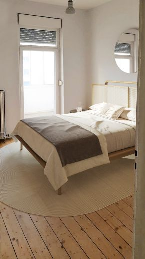 Schöne helle Zwei-Zimmer-Wohnung