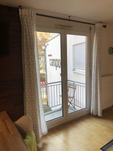 Vermiete stlivoll möbliertes 1-Zimmer-Apartment in S-Hohenheim mit WLAN