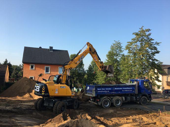 Baubeginn erfolgt - Graupa - Traumhafter Fernblick
