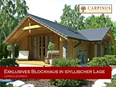 Exklusives Blockhaus in idyllischer Lage