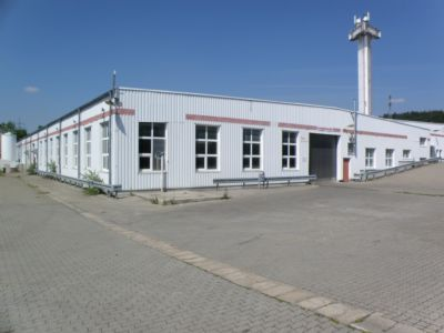 Postbauer-Heng Halle, Postbauer-Heng Hallenfläche