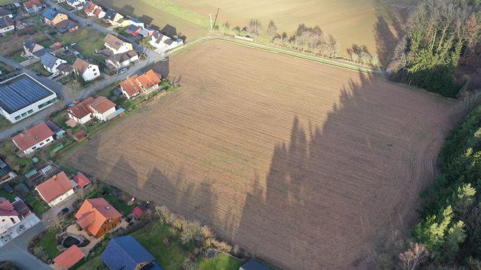 Schönes Grundstück 1 im neuen Baugebiet in Redwitz - Trainau