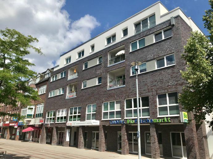 Neubau: 2,5-Zimmer Wohnung im Herzen von Rahlstedt mit großem Balkon