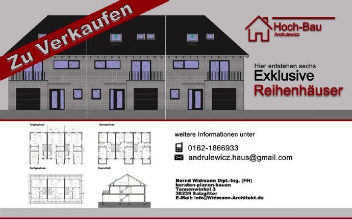 Provisionsfrei: Sechs Reihenhäuser mit viel Platz in Klein Gleidingen (Vechelde) zu verkaufen.