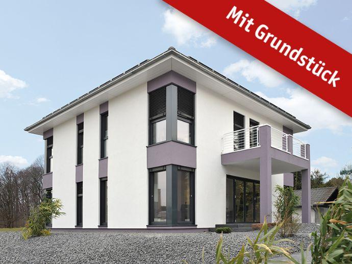 Stadtvilla Top modern als Effizienzhaus 40, für die ganze Familie