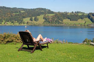 Landhaus Sinz überm See - Ferienwohnung - Alpseepanorama****