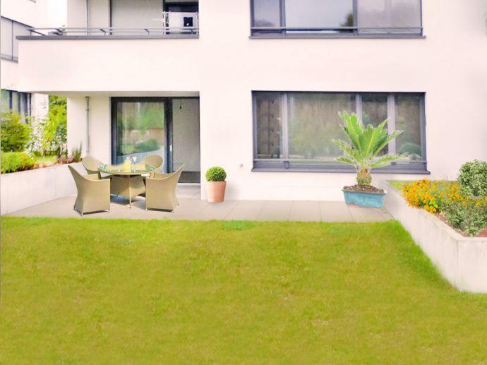Kelkheim: House in house living - Herrliche 4 Zi. Wohnung - über 30 m² Terrasse im Grünen