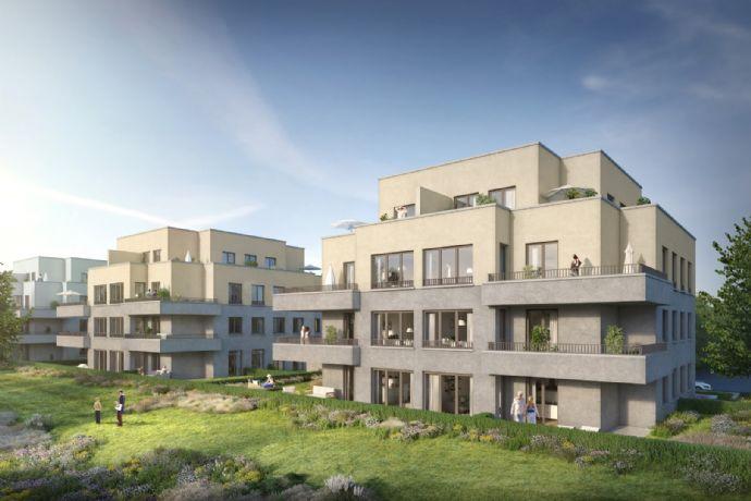 Ein Traum von einem Penthouse in grüner Stadtlage mit großer Dachterrasse