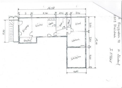 3-Zimmer-Wohnung mit Balkon und Garten in Rheinbach