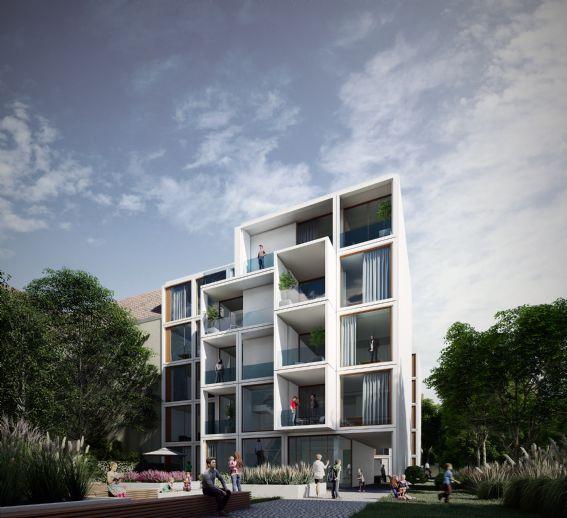 Neue Florahöfe: Schöne 3- Zimmer-Erdgeschosswohnung mit ebenerdiger Terrasse im grünen Innenhof