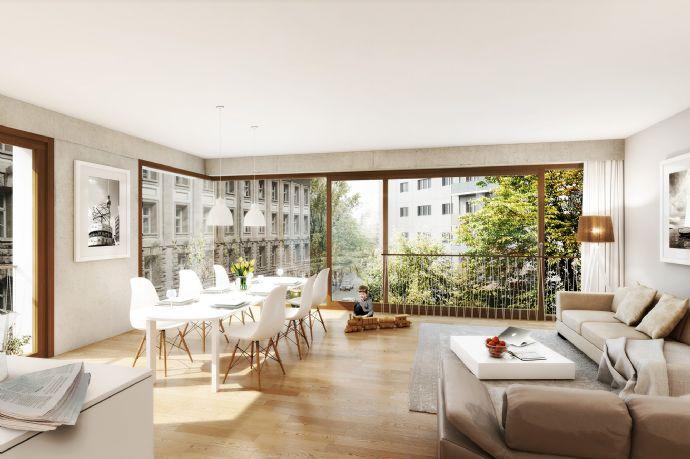 2-Zimmer Wohnung in gehobener Qualität - Baugemeinschaftsprojekt