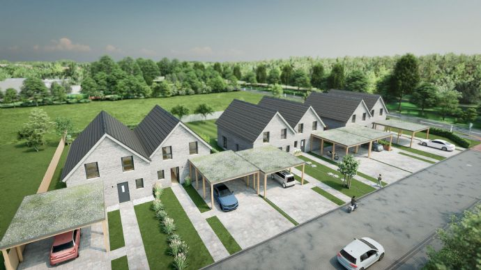 Provisionsfrei Neubau Doppelhaushälfte ca 130m²