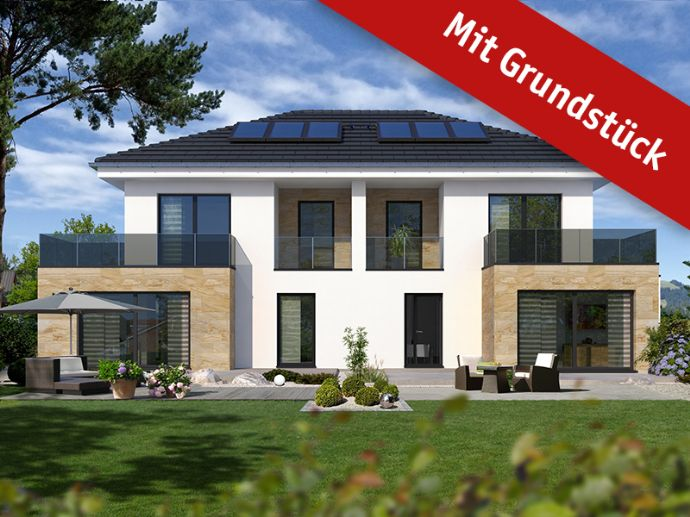Doppelhaushälfte als Effizienzhaus incl. Wärmepumpe und Grundstück