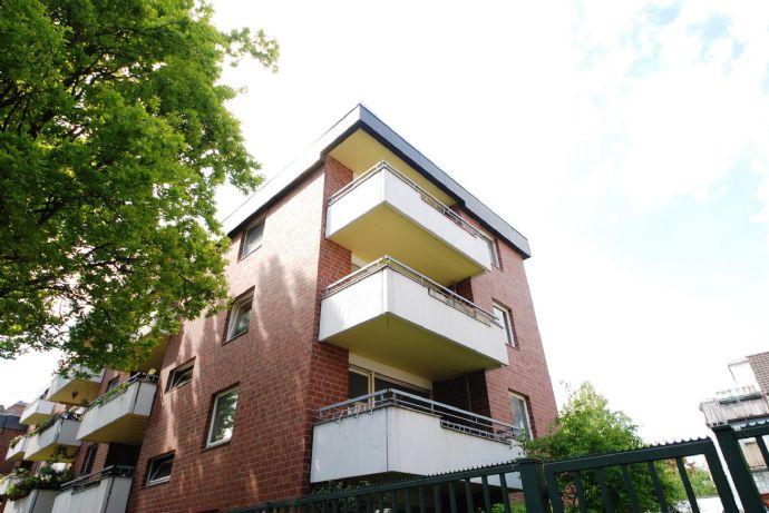 Schöne 1,5Zi.- Wohnung im Erdgeschoss/Hochparterre in Krefeld.