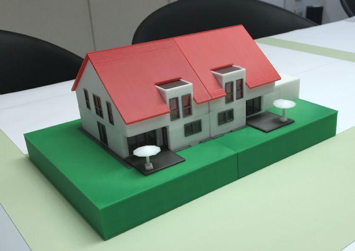 Großzügige 6 Zimmer Neubaudoppelhaushälfte inkl. Grundstück