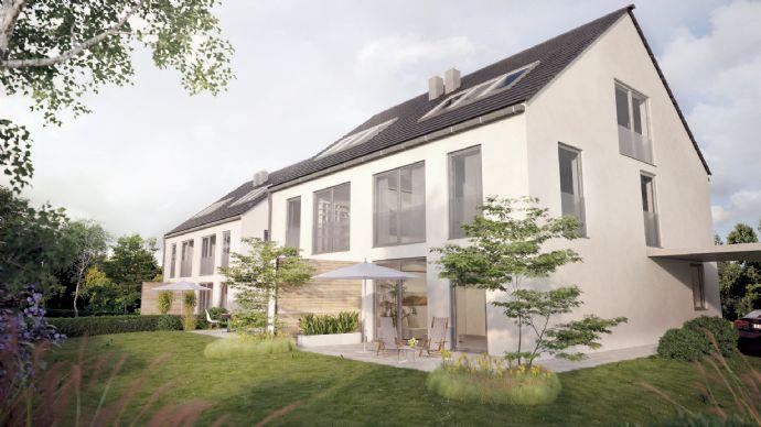 Moderne Doppelhaushälften im Grünen