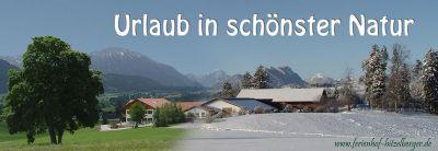 Ferienhof Hitzelberger -  Ferienwohnung Säuling