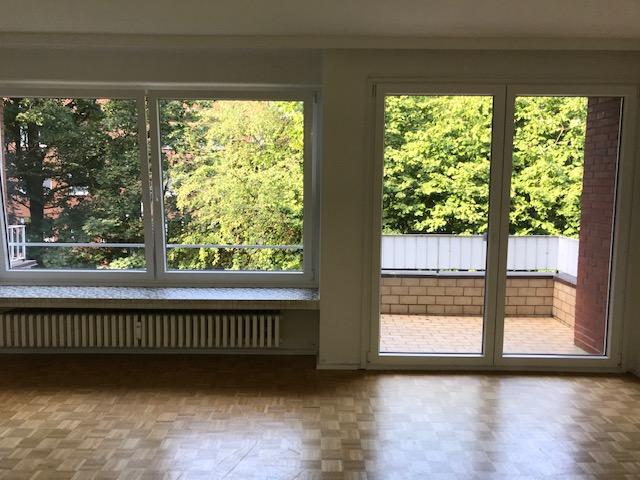 Ruhige 2 Zimmerwohnung in grüner Anlage mit Balkon