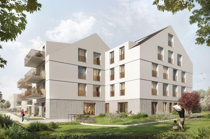 Direkt vom Bauträger- Baubeginn erfolgt - großzügige 5-Raumwohnung mit Balkon und 2 Bädern