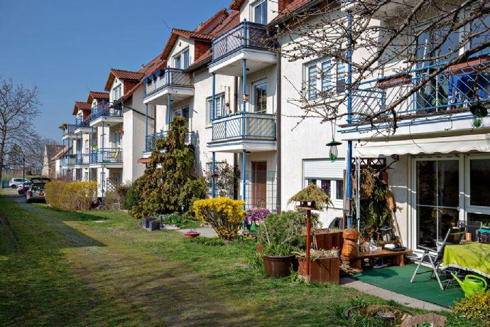 Schöne 2-Zimmer Wohnung für Kapitalanleger & Selbstnutzer | Terrassen - & Etagenwohnungen in Seifertshain bei Leipzig, grüne & gepflegte Lage!