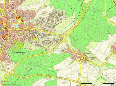 Villingen-Schwenningen Halle, Villingen-Schwenningen Hallenfläche