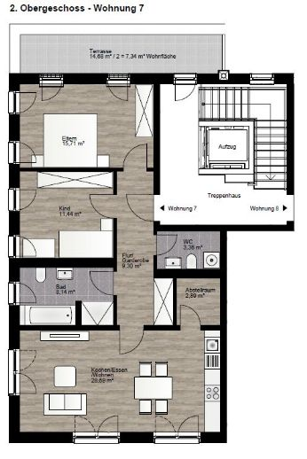 **Helle 3-Zimmer-Wohnung mit Balkon** #7