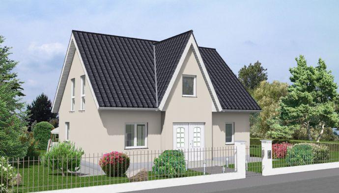 Im Alleinauftrag: Ludwigsfelde:Groß Schulzendorf) geplantes Einfamilienhaus auf hinterem, ruhigen Grundstück !!!