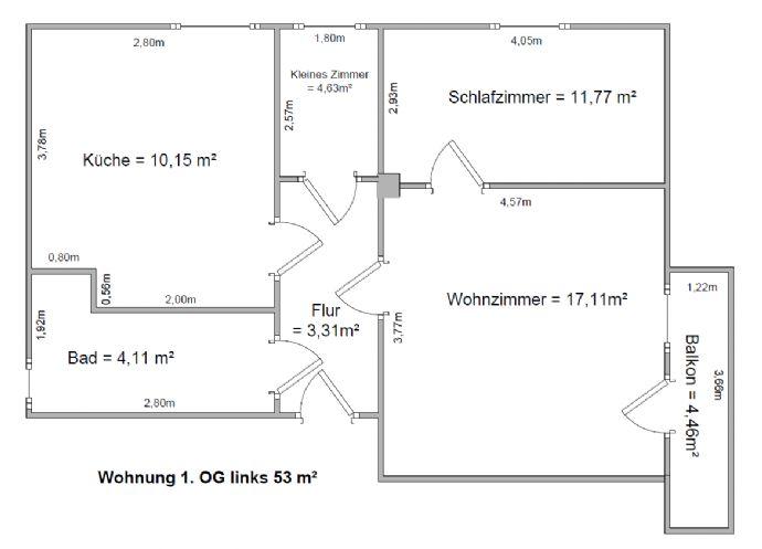 Gemütliche 2 Raumwohnung im 1. OG Dresden Coschütz