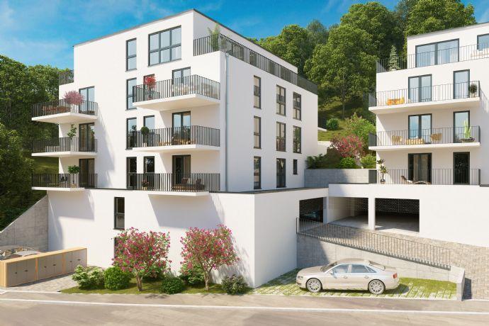 Lichtdurchflutete 2,5-Penthousewohnung mit fantastischem Fernblick inkl. TG-Stellplatz