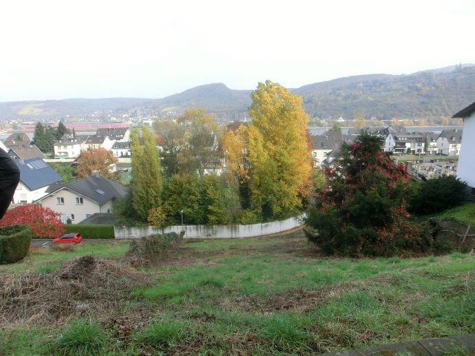 Baugrundstück mit Rheinblick - keine Maklerprovision