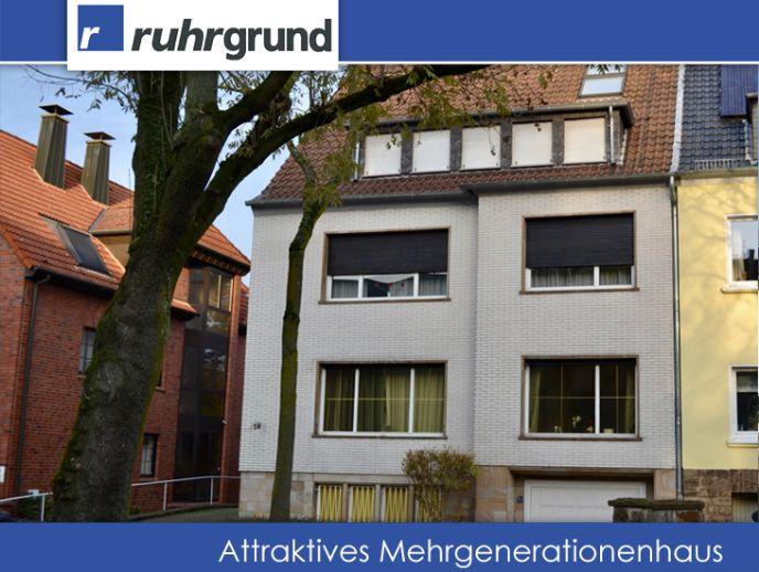 Rarität: großzügiges Mehrgenerationenhaus in der Innenstadt-Ost!