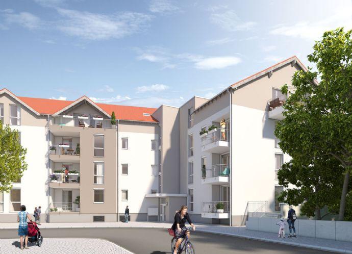 2 - ZKB mit Südbalkon im Burgundenhof Ludwigshafen