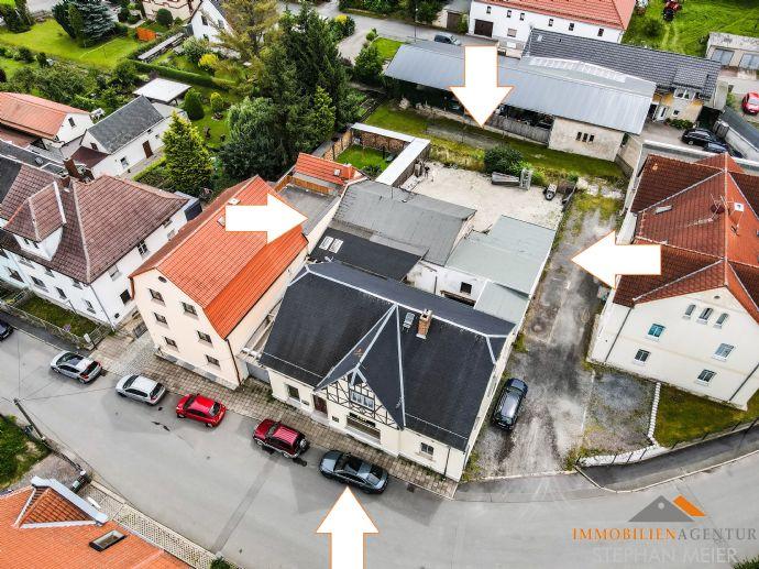 Oberpöllnitz Attraktives Mehrfamilienhaus mit Ausbaupotential