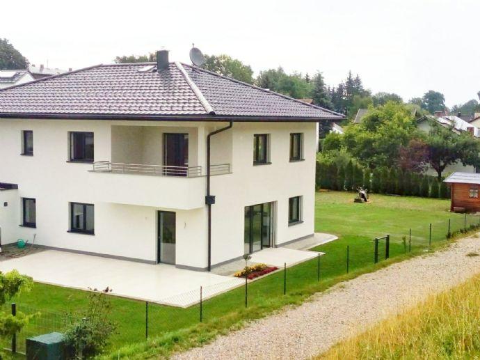 Moderne Erstbezugs-Wohnung! 3-Zimmer-Wohnung mit großem Balkon. Gesamte1. Etage