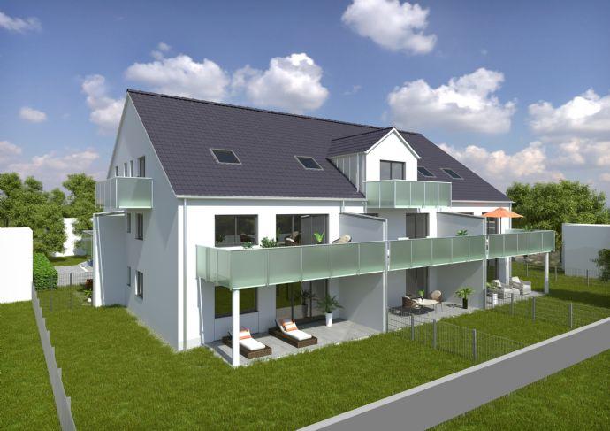 2-Zimmer-Erdgeschosswohnung mit Garten (W 3)