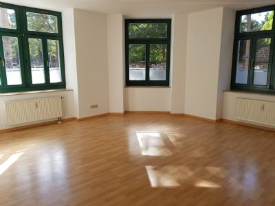 Schicke sonn. u. ruh. 2-RW mit Südbalkon u. Blick ins Grüne in der Dresdener Neustadt