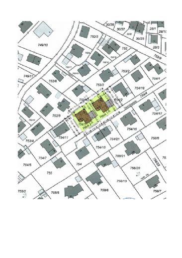 Starnberg Ortsteil Söcking - schön gelegenes Baugrundstück mit genehmigtem Eingabeplan 2 Wohnhäuser mit je 2 Wohnungen