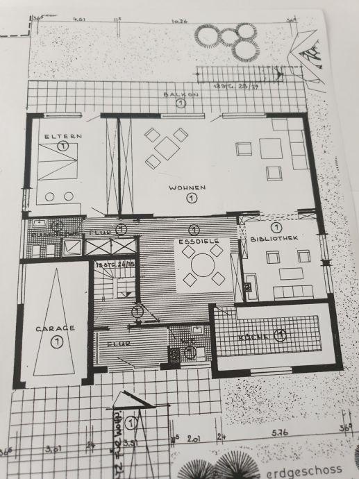 Rösrath - barrierefreie EG-Wohnung ca.149 m² mit Balkon und Garage