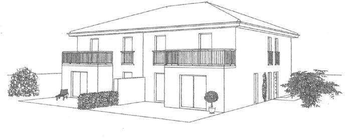 Neubau Stadtvilla Doppelhaushälfte in Gütersloh-Isselhorst - Wir bauen Ihr individuell geplantes Massivhaus