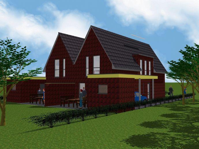 KfW-40 - Neubau-Doppelhaushälfte im Wohnprojekt Nordhorn-Blanke