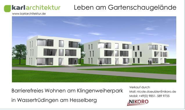 topmodernes Neubauprojekt Am Klingenparkweiher in Wassertrüdingen am Hesselberg