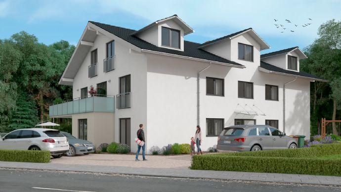 Großzügige 3-Zimmerwohnung mit großem Balkon! Neubau!