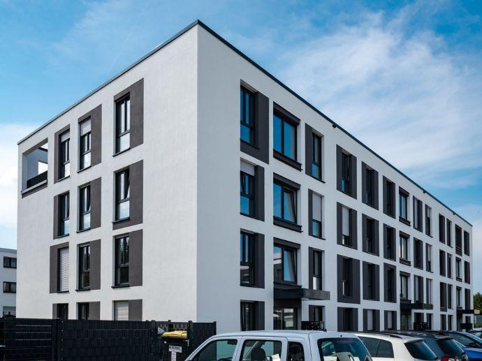 Edel und zeitlos wohnen in modernem 4-Zimmer-Penthouse mit 2 Bädern und 60m² Dachterrasse