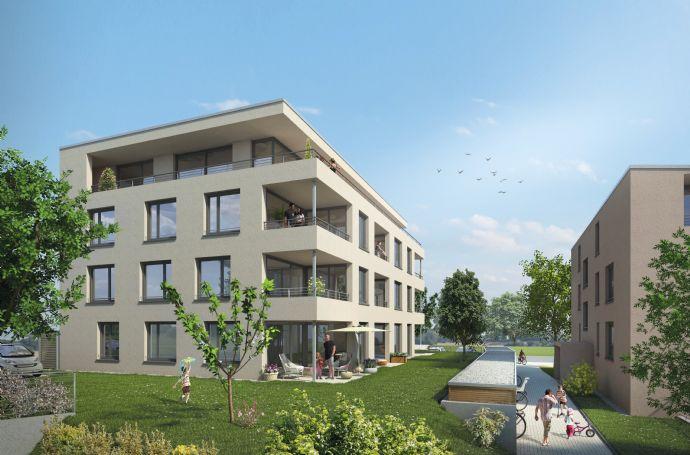 Erdgeschosswohnung mit Balkon - Neubauprojekt