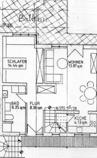 Separates Wohnen im Zweifamilienhaus mit Blick ins Grüne