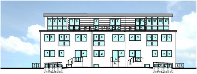 Kapitalanlage MFH 10 WE Neubau (Penthouse)-Maisonette-WHG in ruhiger Lage von HH-Rahlstedt (auf 1.973 qm Grundstück)